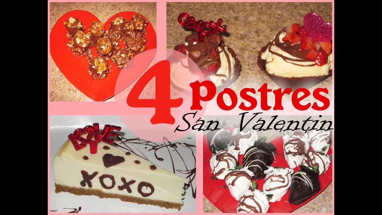 Diy 4 ricos y f ciles postres para san valentine - Dulces de san valentin ...