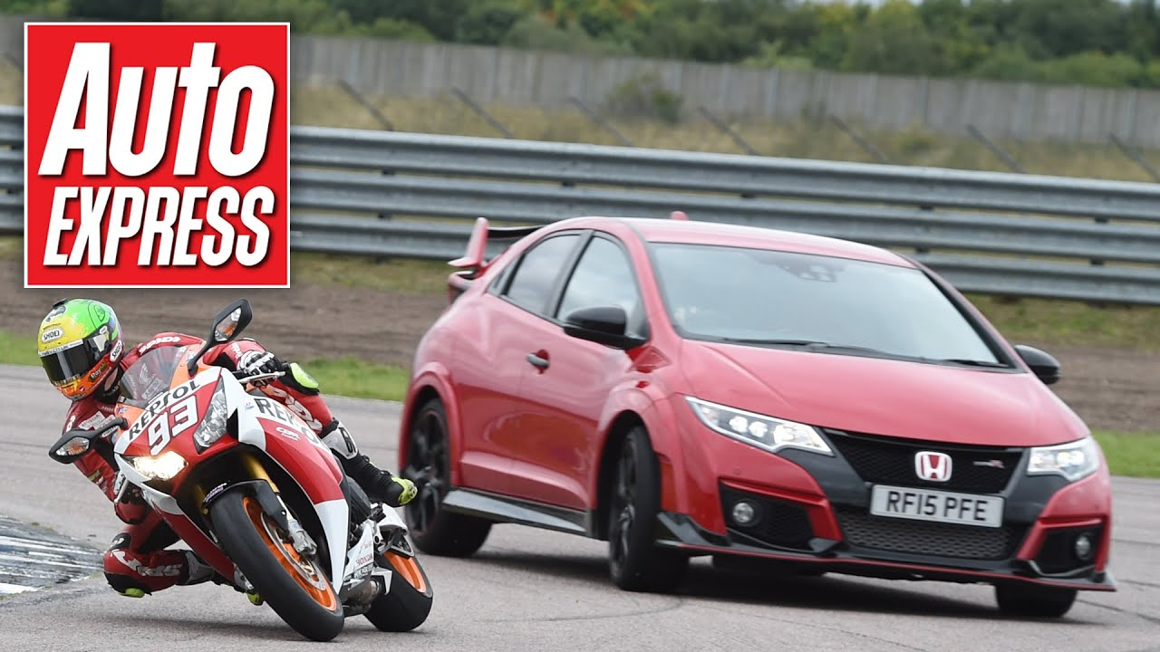 Honda Civic Type R Vs CBR1000RR Fireblade SP
