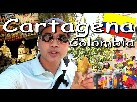 Ep 4/10 Colombia Trip Vlog 2018 | Cartagena Part 1 of 3