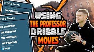 USING THE PROFESSOR'S DRIBBLE MOVES IN NBA2K18! MOST INSANE DRIBBLEGOD! SO MANY ANKLE BREAKERS