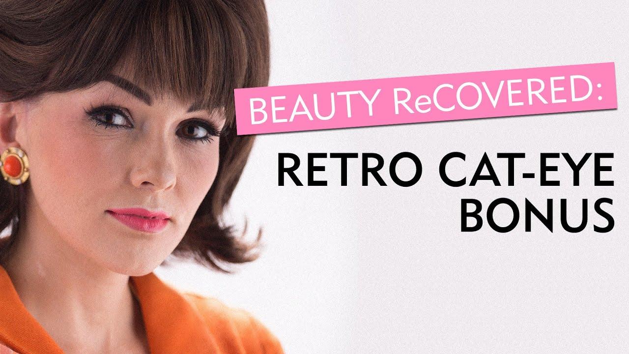60s Cat Eye Makeup Transformation In 30 Secondsglamours Beauty