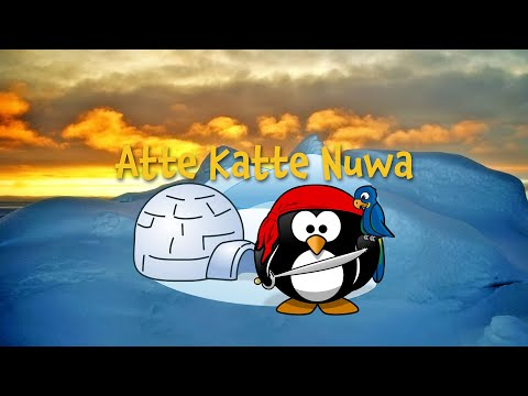 Atte Kate Nuwa (Inuit nursery rhyme, instrumental - lyrics video for karaoke)