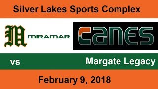 2-9-18 Miramar Canes Elite vs Margate Legacy 8U Coach Pitch