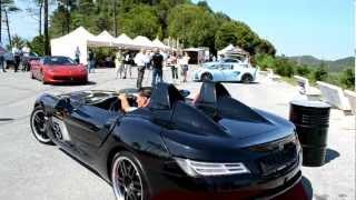 Mercedes SLR Stirling Moss exhaust sound - SpeedingToday