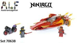 Lego Ninjago 70638 Katana V11 - Lego Speed Build Review