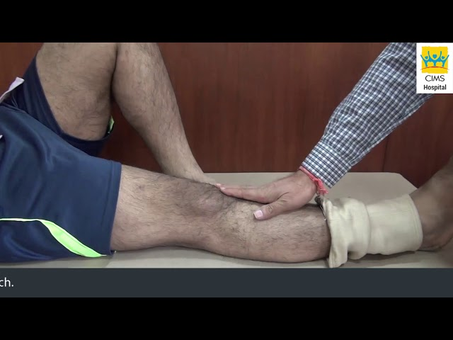 Best ACL Reconstruction of Knee Joint - Dr. Keyur Buch. Patient Testimonial : CIMS Hospital
