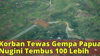Korban Tewas Gempa Papua Nugini Tembus 100 Lebih