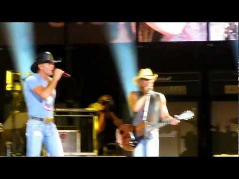 Tim McGraw and Kenny Chesney Running On Empty Nashville, TN 6-23-12