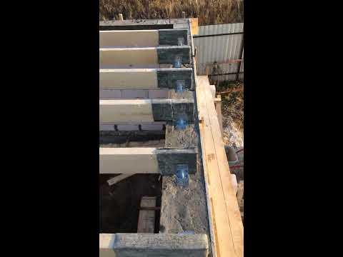 Лаги на шестиметровый пролёт под основание пола второго этажа. (Стройка 1)