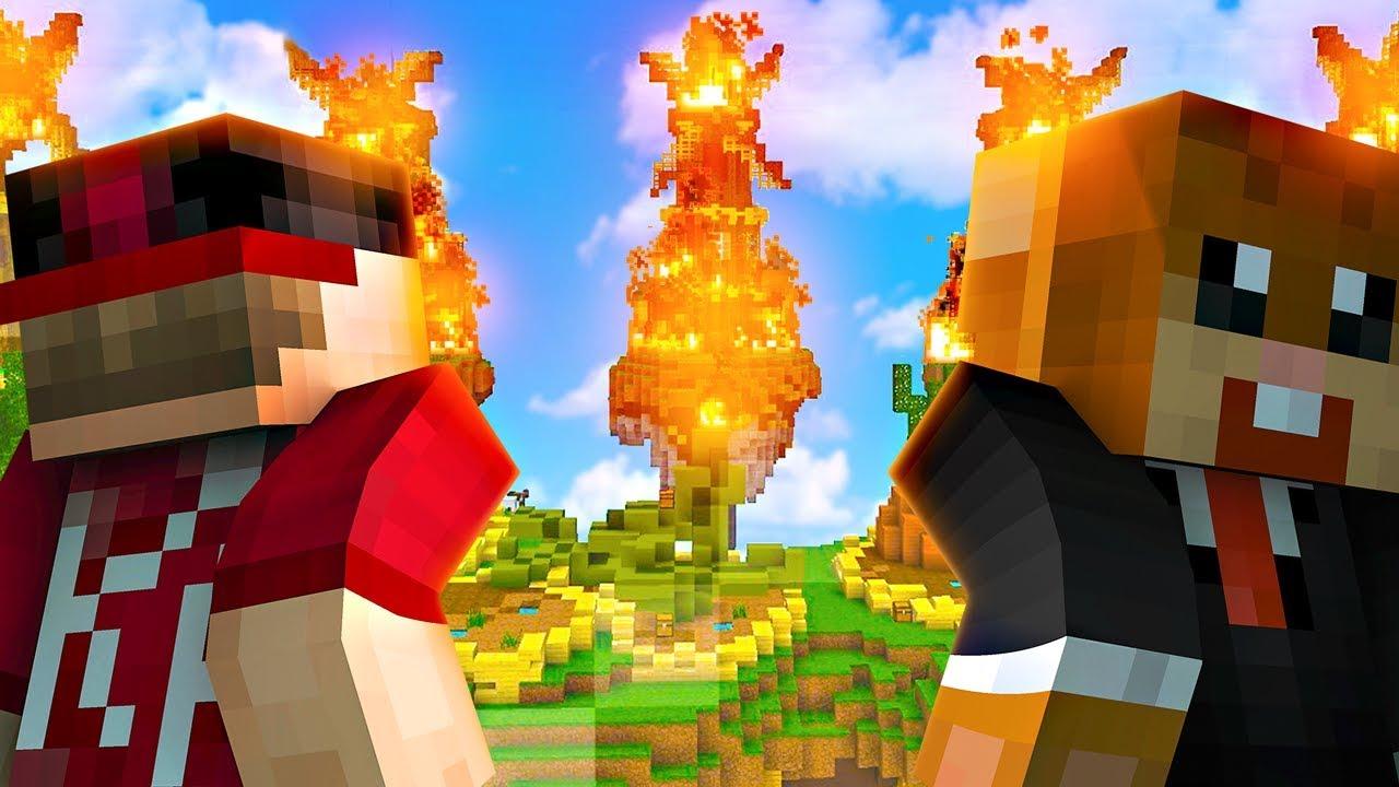 ALLES GAAT IN DE BRAND! - Minecraft