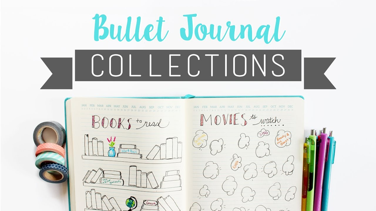 bullet journal collections what are collections veronica marie youtube. Black Bedroom Furniture Sets. Home Design Ideas