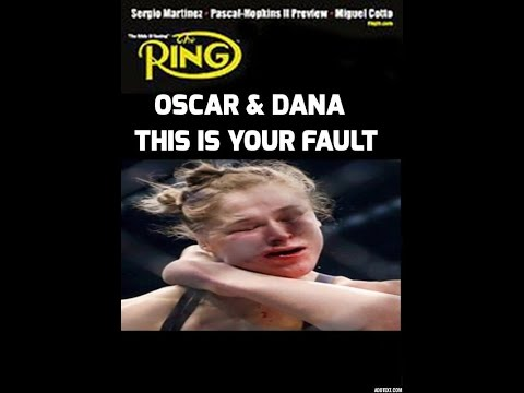 OSCAR & DANA THIS IS YOUR MESS RONDA ROUSEY KO'D BY HOLLY HOLM