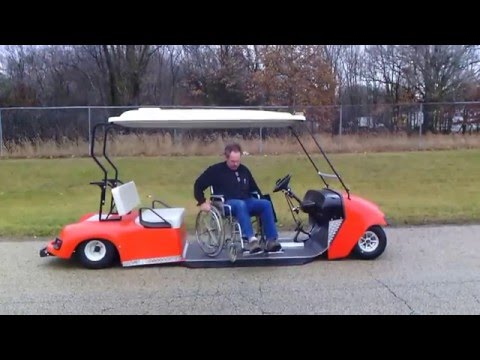 PHED Mobility LLC  Drop Deck Wheel Chair Golf Cart