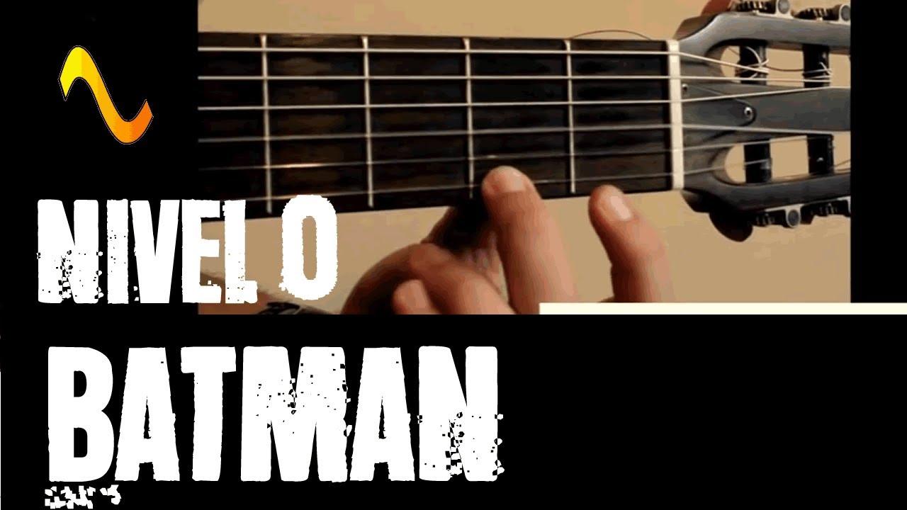 Música do Batman - Só o Riff pra iniciante - VIOLÃO Fácil