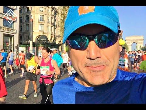 Paris Marathon 2017 VLOG - It was a hot finish!