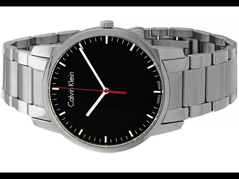 How To Change The Battery Of A Calvin Klein K2g2k1 Watch