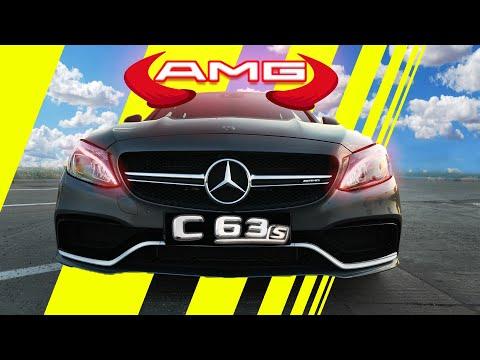Mercedes AMG c63s - Diavolul De 510 cai
