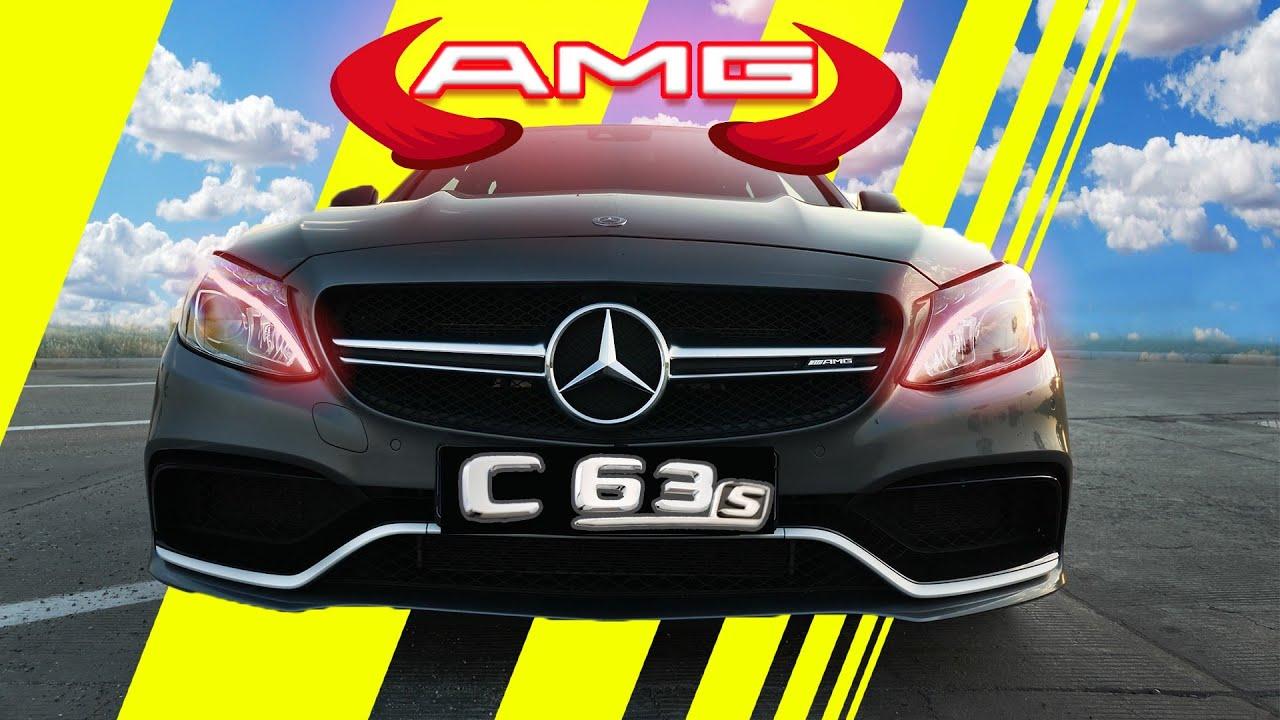 AMG Mercedes C63s - Diavolul de 510 cai care m-a facut fericit