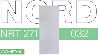 NORD NRT 271 032 - холодильник с верхней морозильной камерой - Видеодемонстрация  от Comfy(Двухкамерный холодильник NORD NRT 271 получил верхнее расположение морозильной камеры и обладает классом энерг..., 2014-09-27T11:44:13.000Z)