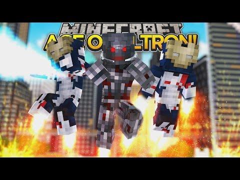 Minecraft Adventure - ULTRON TAKES OVER THE IRON LEGION!!!
