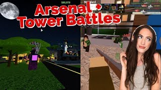 Playing My Favorite Roblox Games! | Tower Battles + Arsenal