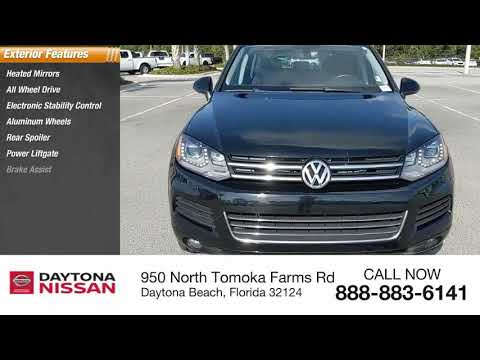 2014 Volkswagen Touareg Daytona Beach Florida 36015C