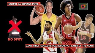 7 GREATEST PBA DEFENDERS NA WALANG DEFENSIVE PLAYER OF THE YEAR AWARD | NO DPOY | BASKETBALL ACE