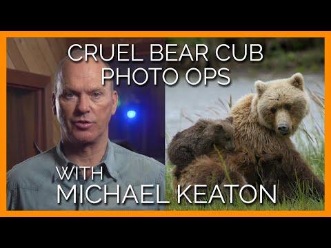 Michael Keaton Slams Bear Cub Selfie Photo-Ops in PSA: 'It's Simply a Question of Respect'