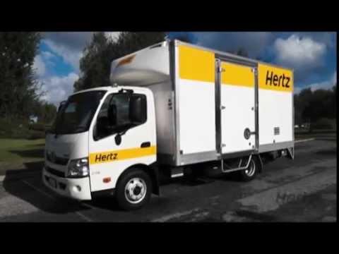 Hertz 3 Tonne Truck Lift Operation
