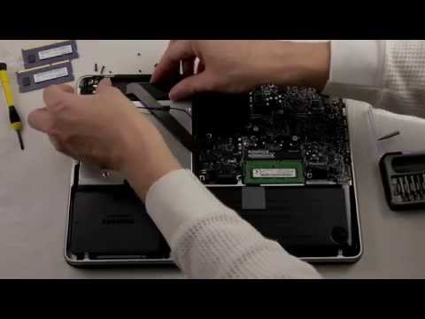 Part 3: Installing Second Hard Drive,SSD and 16gb of Ram Into Mac Book Pro 13in 2012