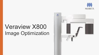 Improving the image quality of the Veraview X800
