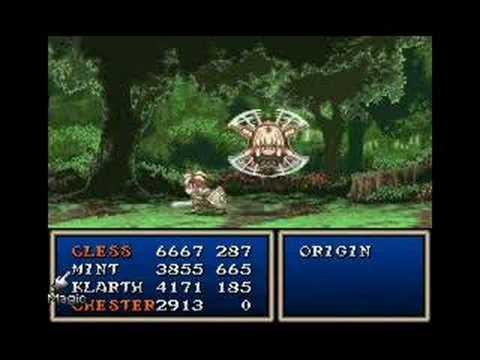 Tales of Phantasia Boss Battle ~ Origin (SNES)