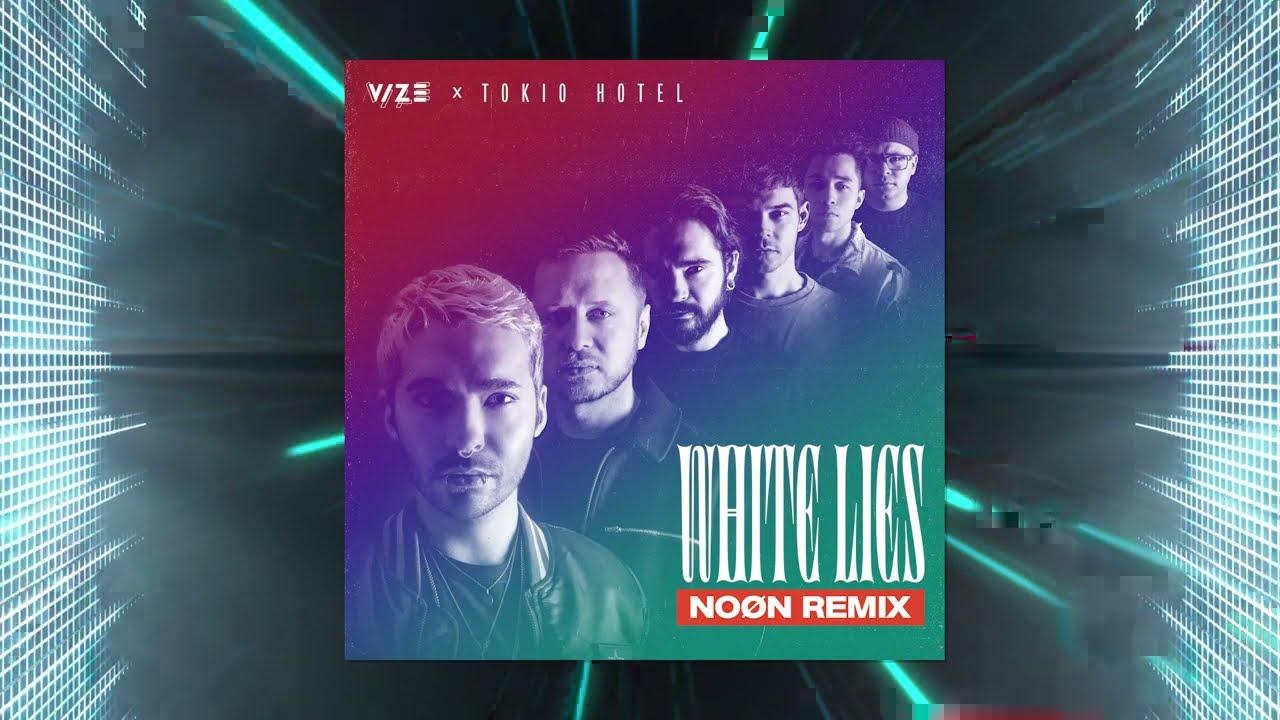 VIZE, Tokio Hotel - White Lies (NOØN Remix) (Visualizer)