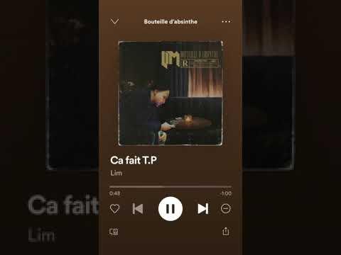 Youtube: LIM  CA FAIT DES TP  OFFICIEL EP BOUTEILLE D'ABSINTHE