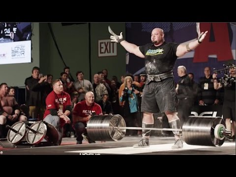 ARNOLD EXPO 2016: Strongman, Deadlifts, and Mark Bell Makes it Rain on Brian Shaw