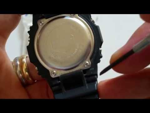 How To Change CASIO G-Shock Watch Band GW-M5610TH The Hundreds LTD Limited Edition Collector 2016