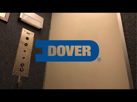Tiny But Completely Original Dover Elevator-1900 K St-Sacramento, CA