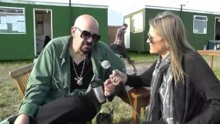 Chris Goss (Masters Of Reality) interview with Michelle (Bloodstock Radio) @Download 2013