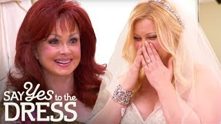 Naomi Judd Convinces Bride That Bling Is Best!  Say Yes To The Dress Atlanta