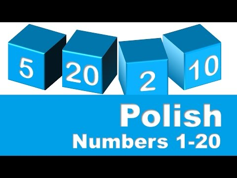 Polish Numbers 1-20