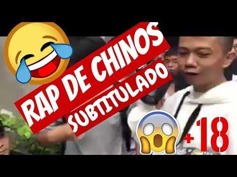 😹😹EPICA BATALLA de RAP en CHINA (subtitulada) | CHINOS RAPIANDO (INTENTA NO REIR😂🤣) | #1