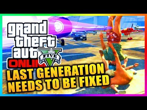 GTA 5 Online - Rockstar Please Help & Fix Last Generation GTA Online Glitches & Bugs! (GTA V)