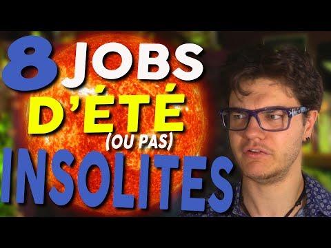 CHRIS : 8 Jobs d'Été (ou pas) Insolites