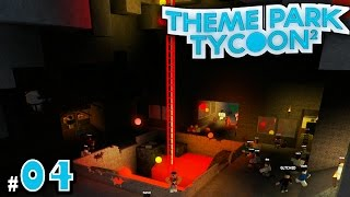 NEW Theme Park Tycoon! Ep. 4: INSIDE of Volcano!! | Roblox