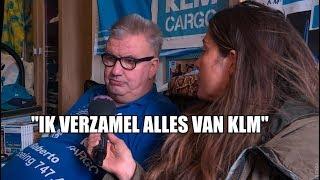 KLM-fan door het dolle heen vanwege 100-jarig bestaan