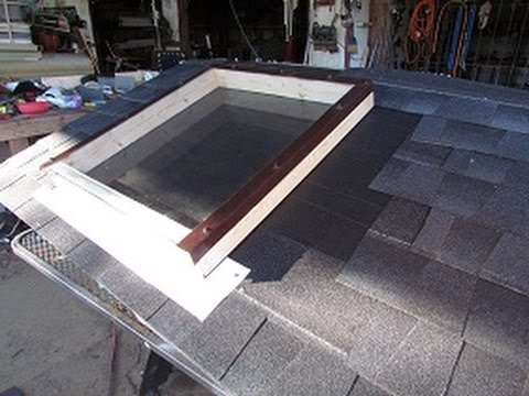 How To Install  A Skylight Part 2