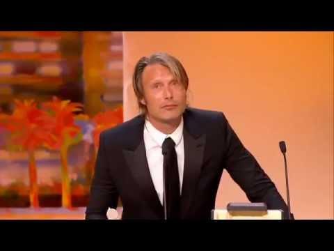 Mads Mikkelsen wins Best Actor Award at Cannes 2012