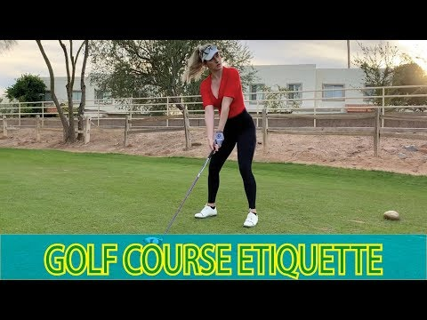 GOLF ETIQUETTE YOU NEED TO KNOW // Tips For Playing Like A Pro