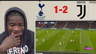 Manchester United fan React to Tottenham vs Juventus 1-2 Champions League Round of 16 2018