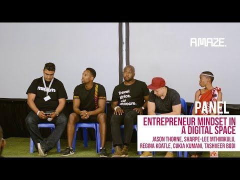 [Panel] Entrepreneur mindset in a Digital Space
